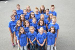 Blauring Termen Gruppenfoto